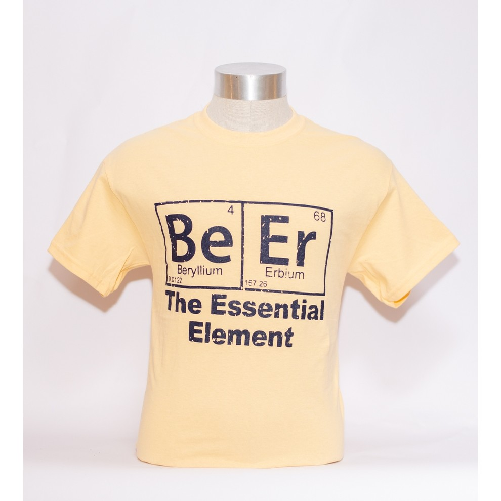 Essential Elements Tee (Yellow Haze)