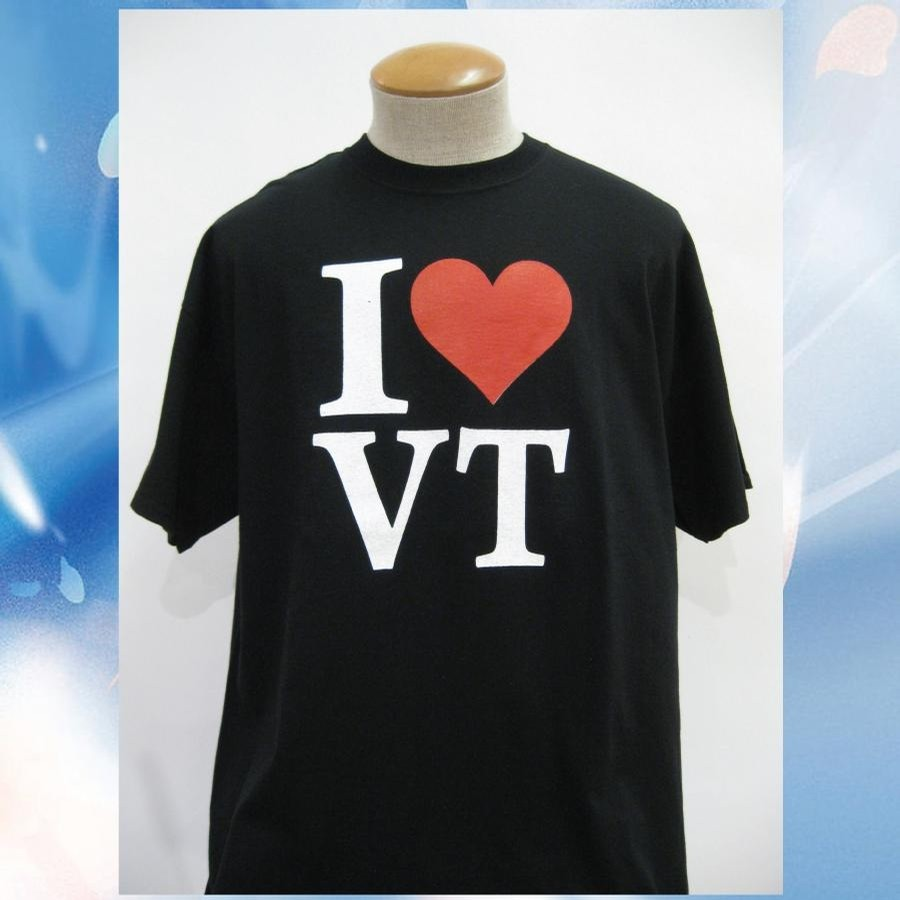 Lovermont I Heart VT Tee (Black)