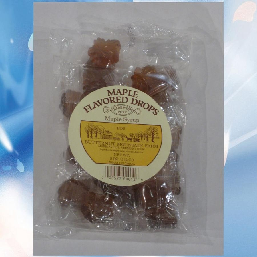 Butternut Mountain Farm VT Maple Flavored Drops Bag
