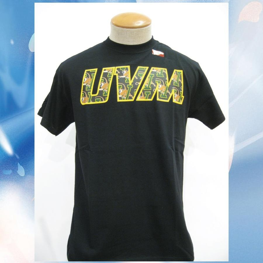 UVM UVM Scatter Cat Tee (Black)