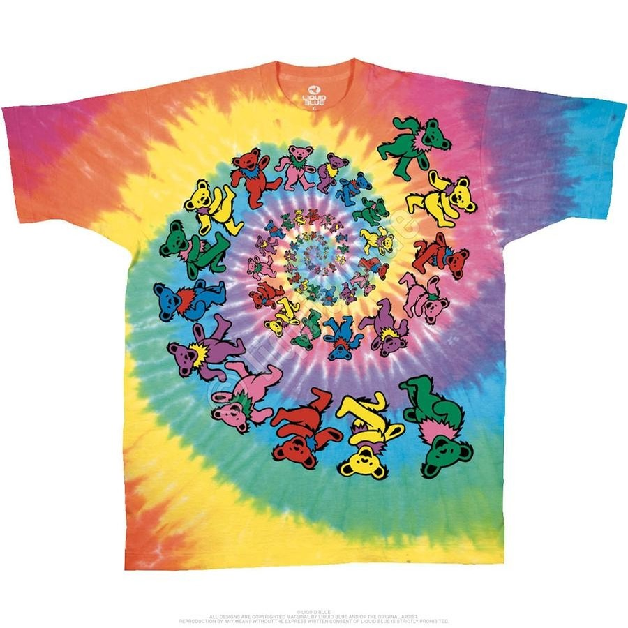 Spiral Bears Tee Youth