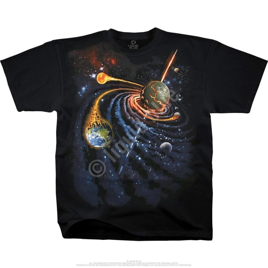 Spiral Space tee