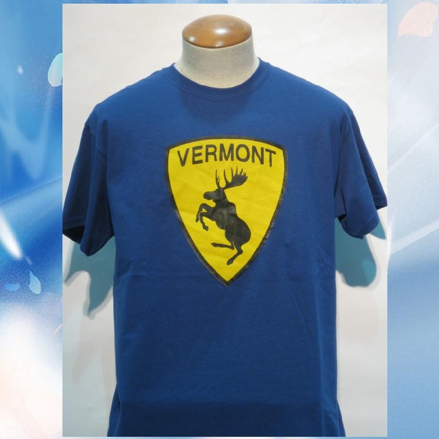 Moose Ferrari Tee (Metro Blue/yellow-black)