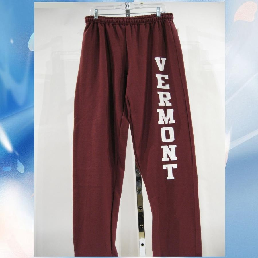 Lovermont VT Vert 8oz Sweatpants (Maroon/White)