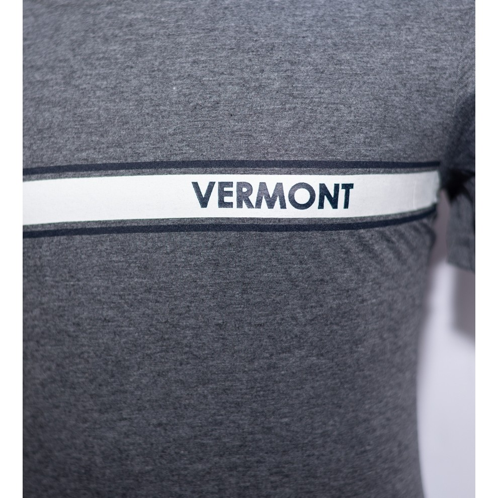 VT 3 Band Tee (Heather Charcoal)