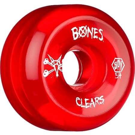 60mm SPF Clear Red Wheel Set