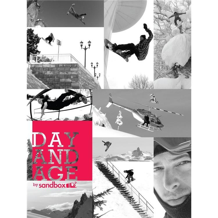 Sandbox 2012 Day and Age DVD