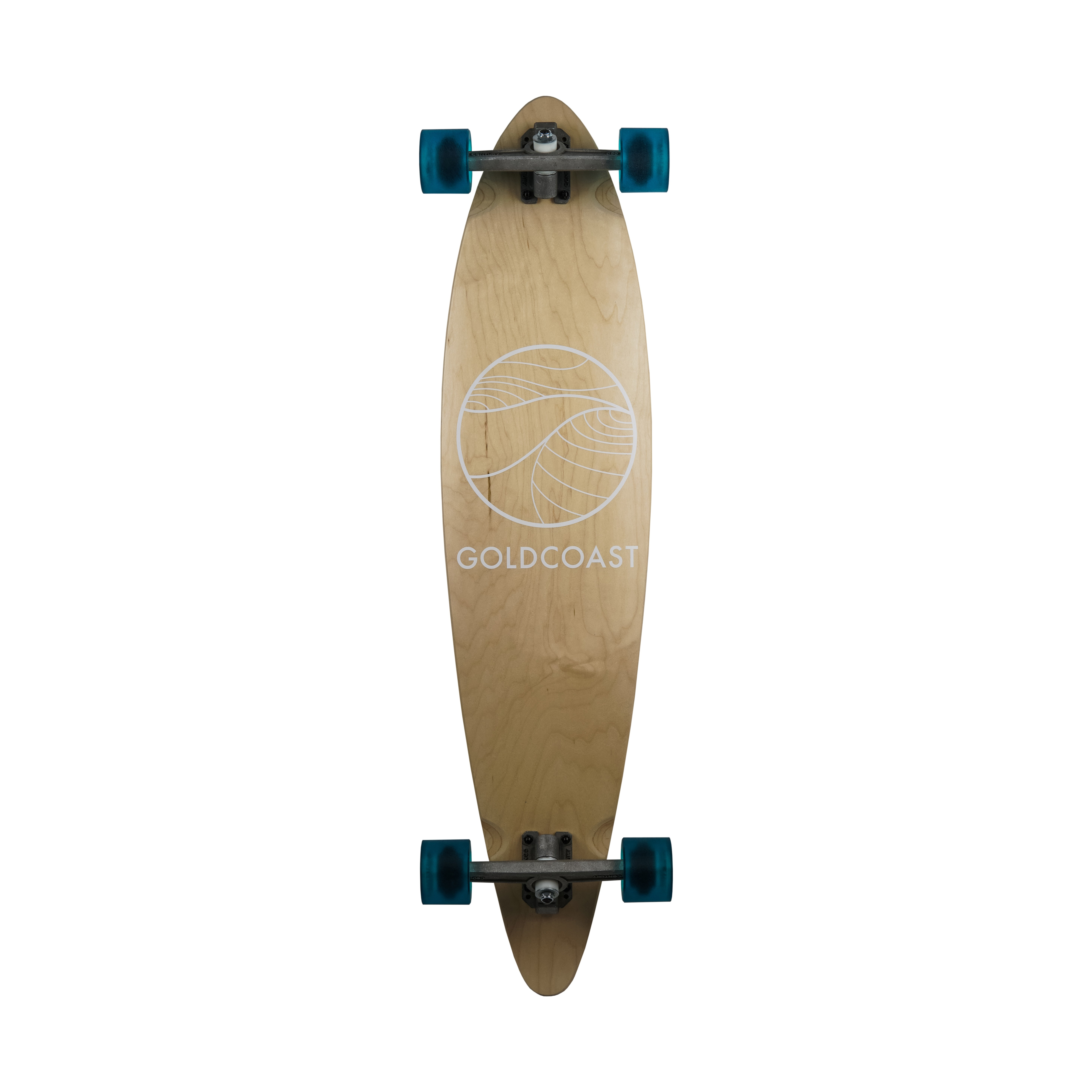 Classic Blond Pintail Longboard