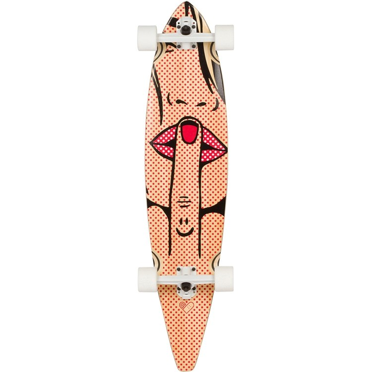 The Fatale Pintail Longboard