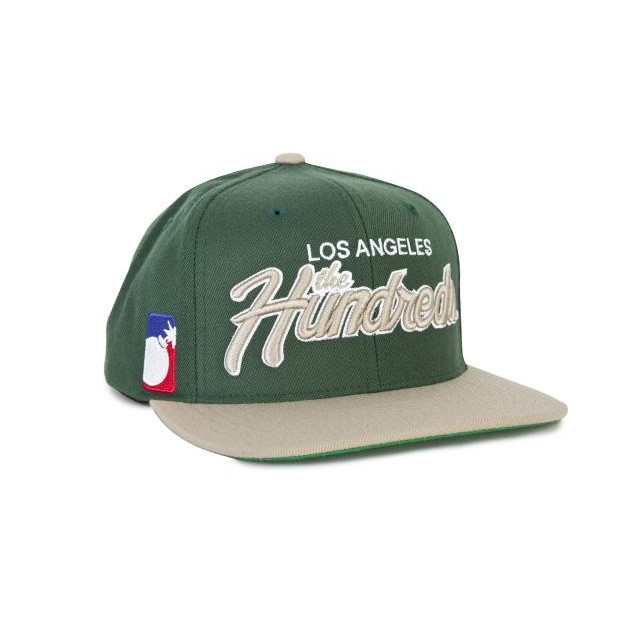 Hundreds - Team Two Snapback (Green)