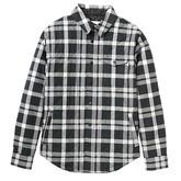Bellow Flannel (True Black / Harness Plaid)