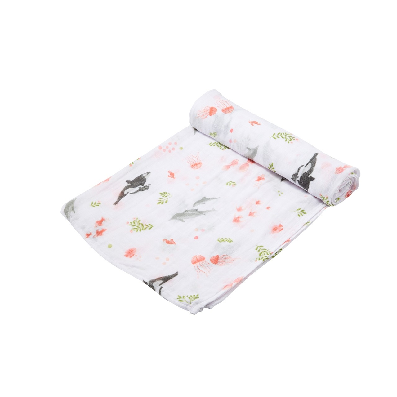 Swaddle Blanket - Dolphin