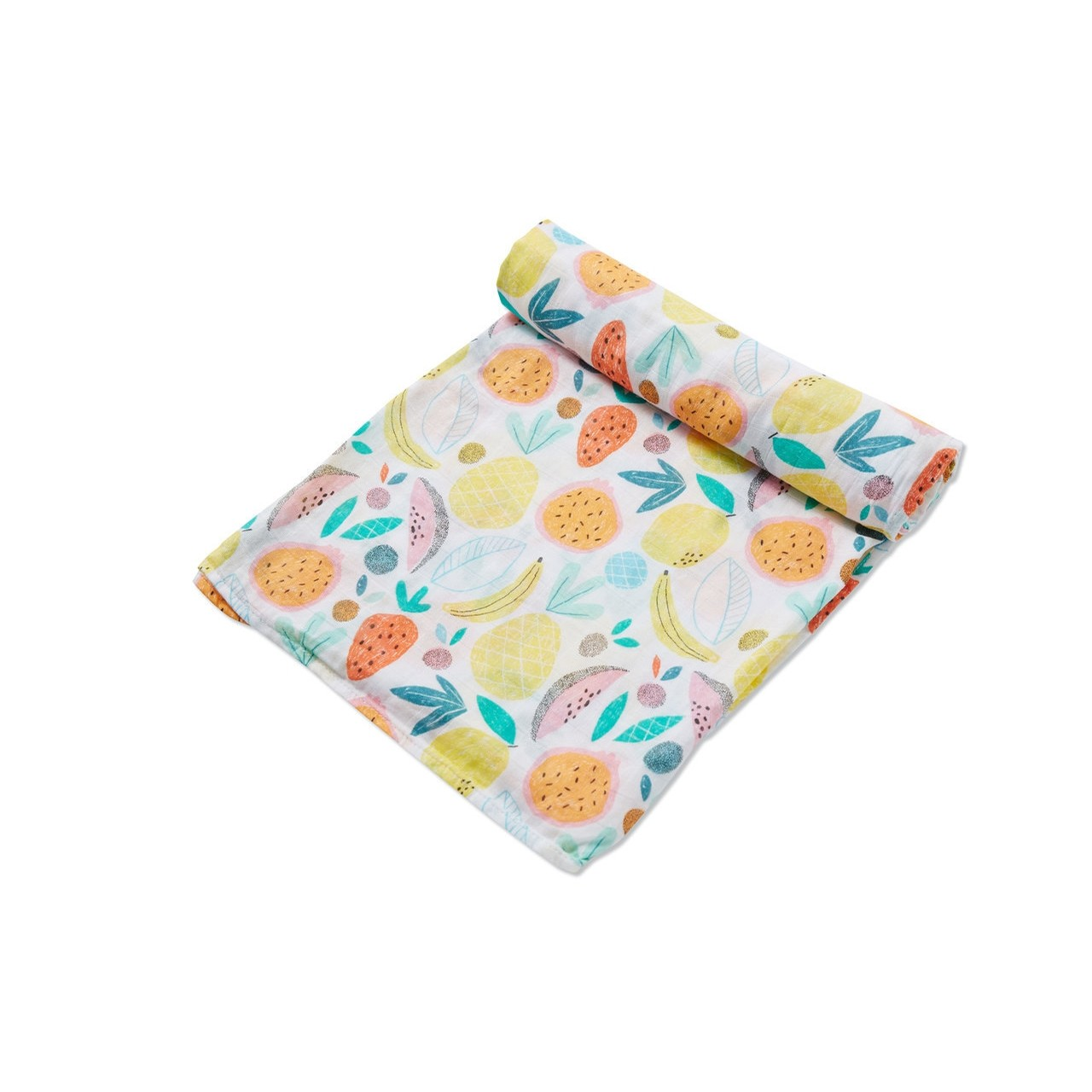 Swaddle Blanket - Bold Fruit