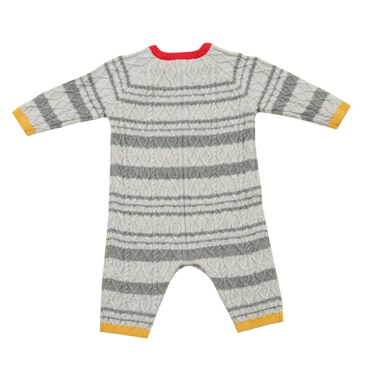Chunky Sweater Knits- Boy Cable Coverall
