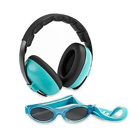 Baby Banz Inc. Baby Ear Muffs and Sunglasses Combo