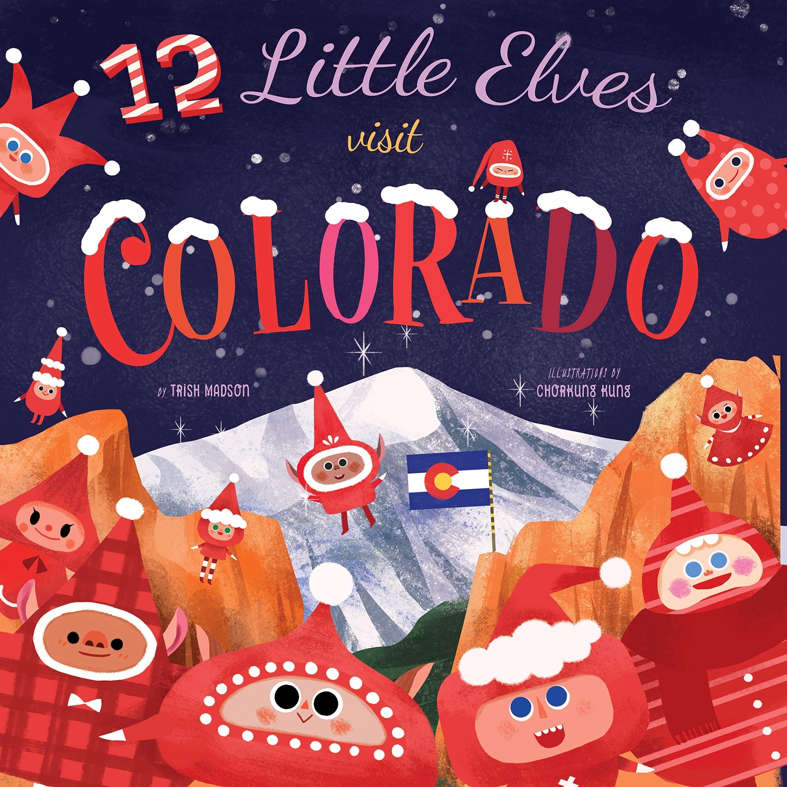12 Little Elves Visit Colorado
