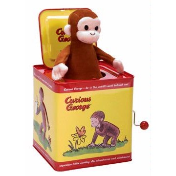 Schylling Curious George Jack in the Box
