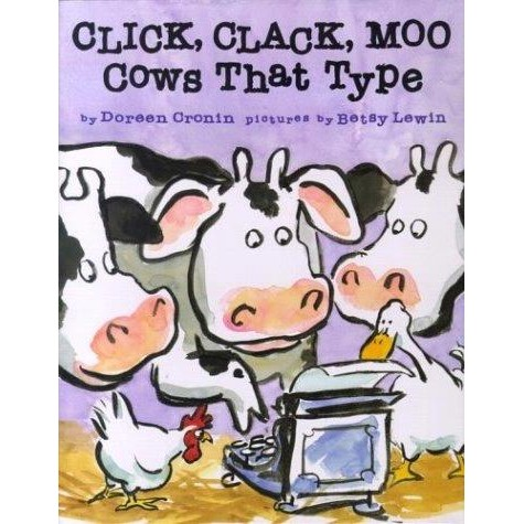 Simon and Schuster Click, Clack, Moo
