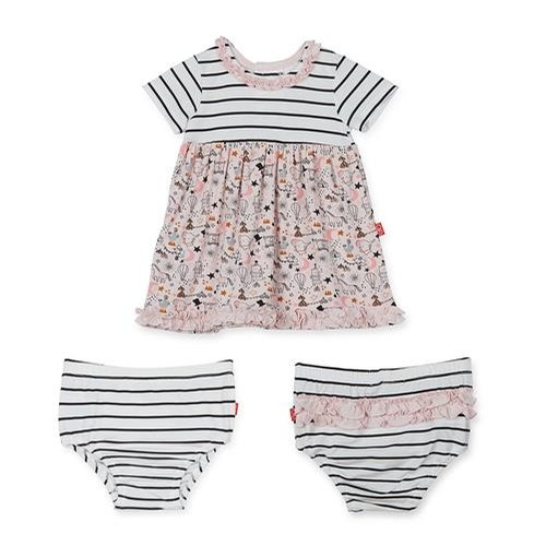 Modal Magnetic Dress and Diaper Cover (Cirque Bebe)