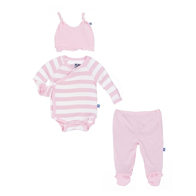 Essentials Ruffle Kimono Newborn Gift Set