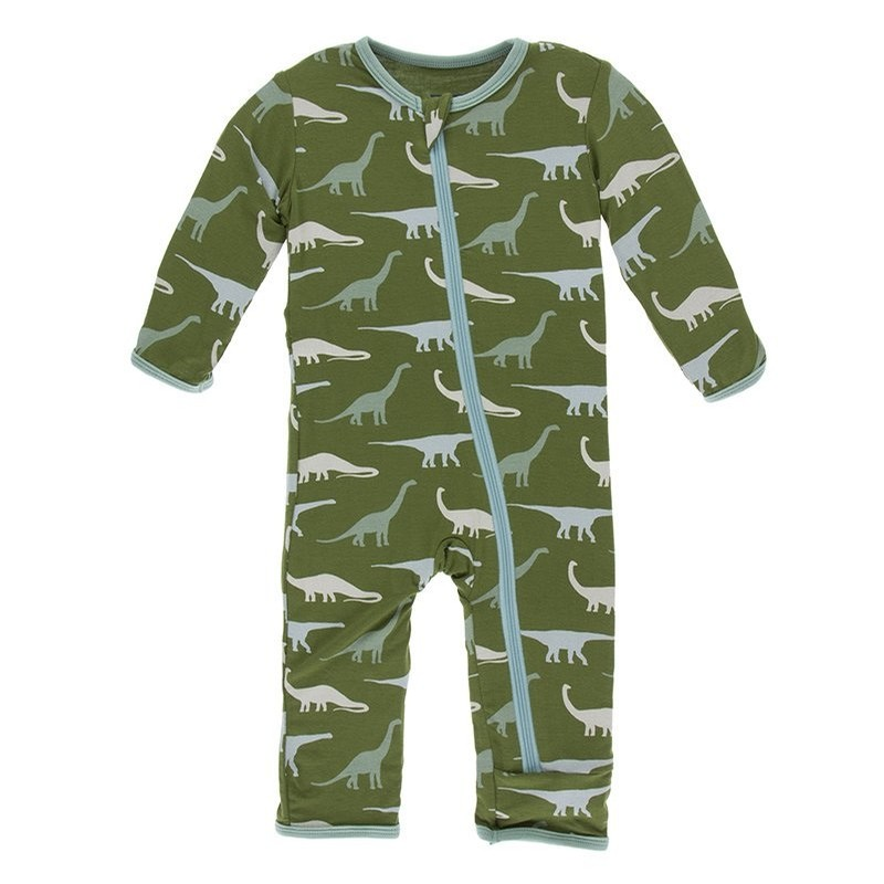 Paleontology - Print Coverall with Zipper