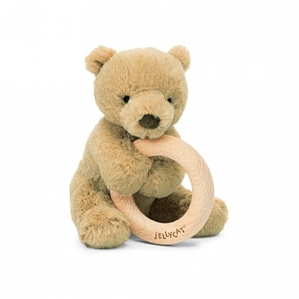 Shooshu Wooden Ring (Bear)