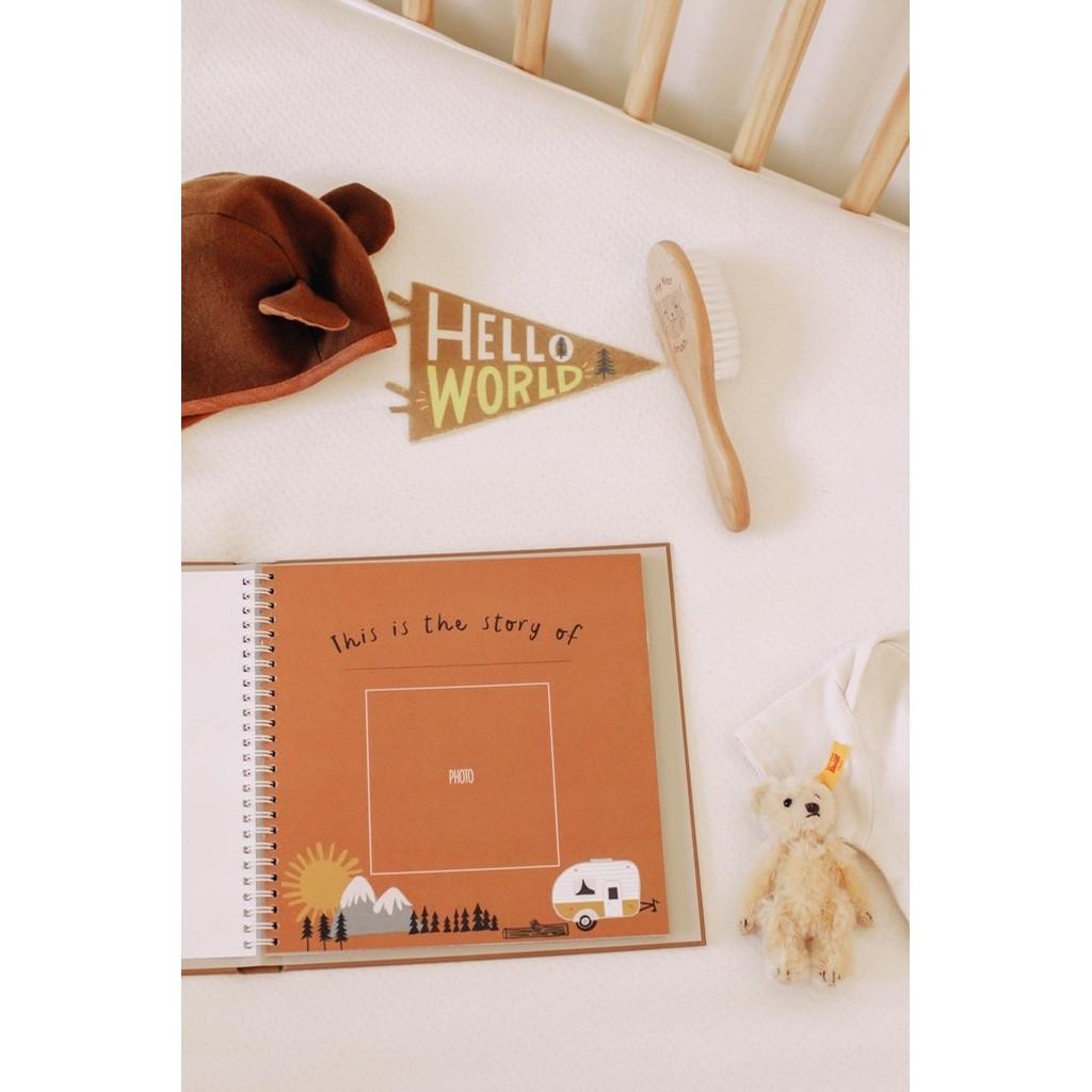 Memory Book-Little Camper