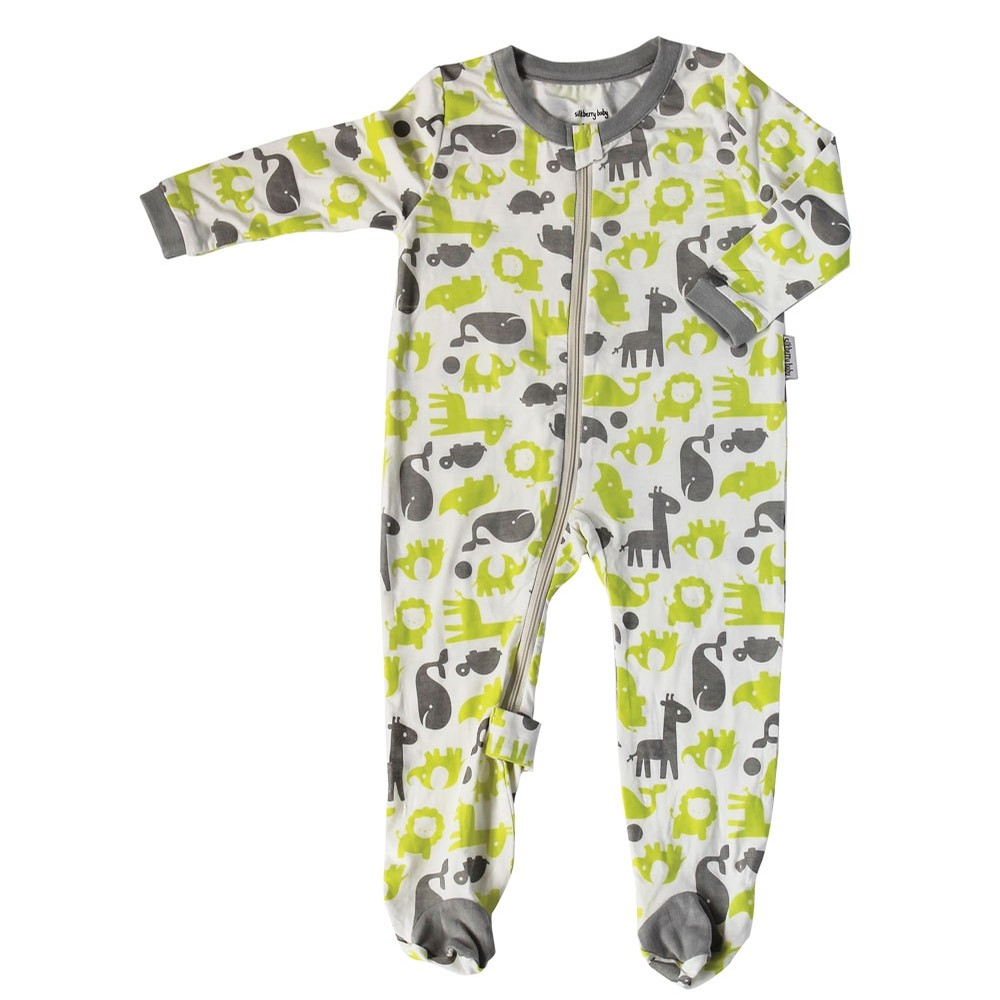 Silkberry Baby Bamboo Footie Sleeper