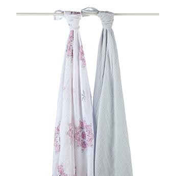 Aden and Anais Muslin Swaddling Wrap (For the Birds)-2 pack