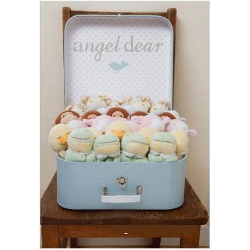 Angel Dear Soft Animal Head Blankies
