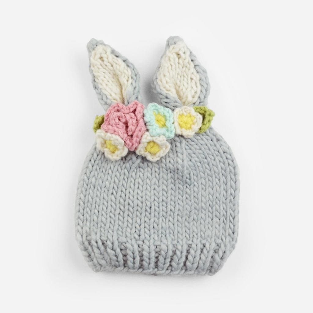 Bunny with Flowers Hat