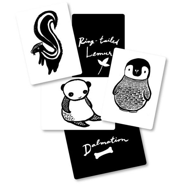 Art Cards for Baby - Black and White