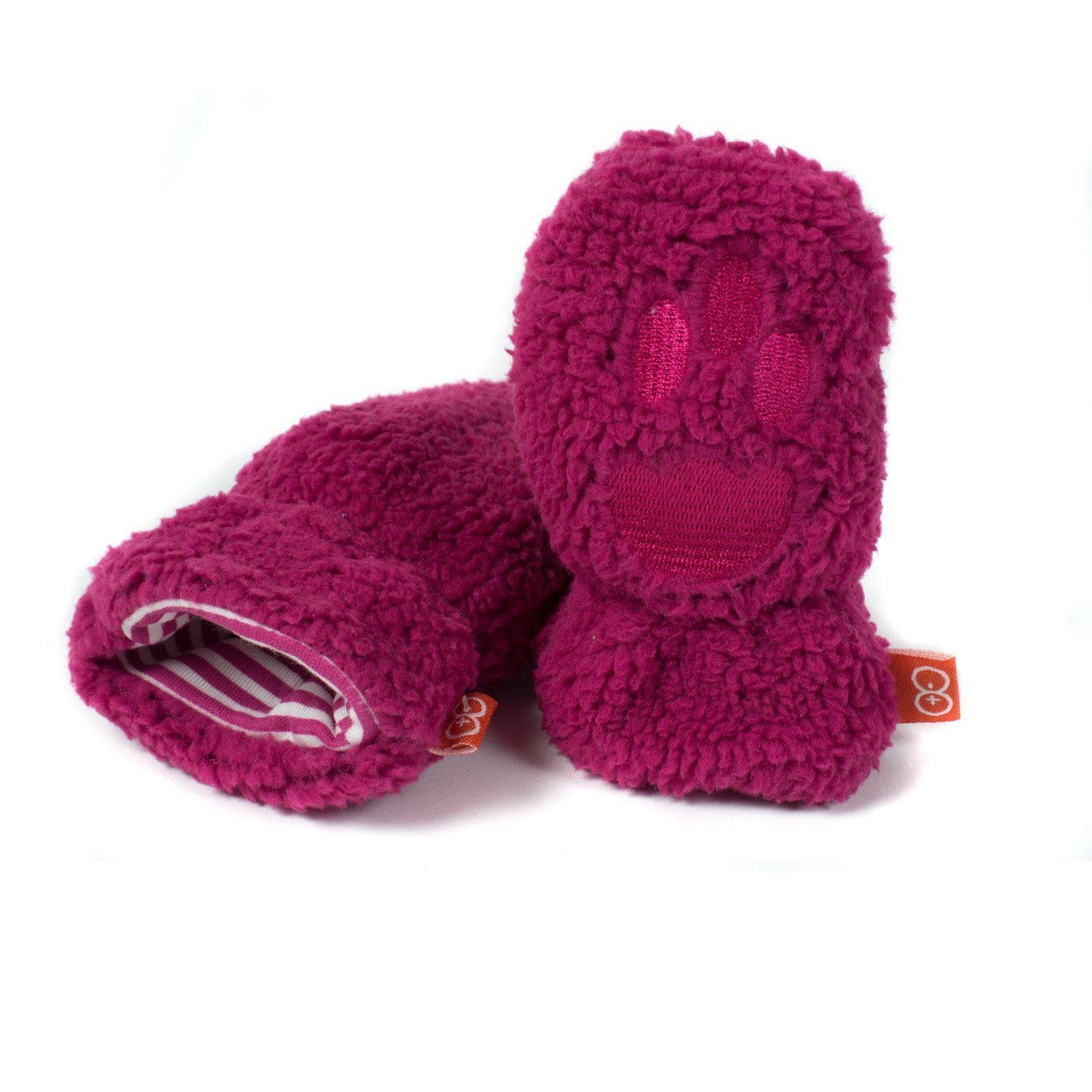 Magnetic Me Fleece Magnetic Mittens (Raspberry)