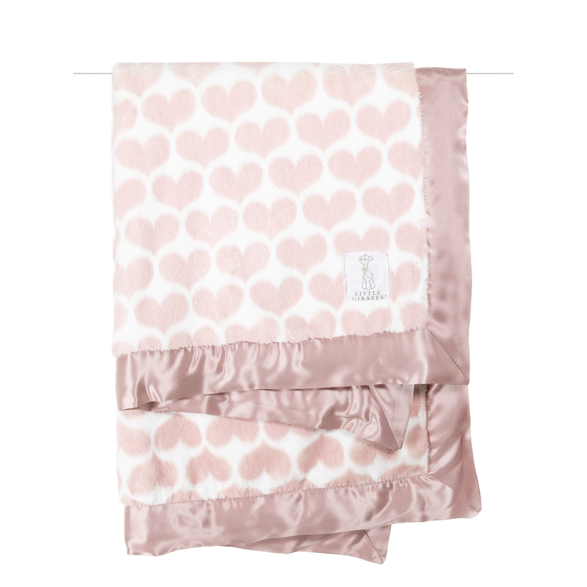 Luxe Heart Army Baby Blanket