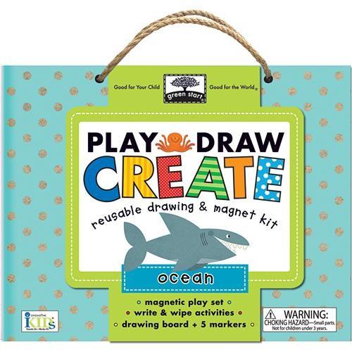 Play, Draw, Create (Ocean)