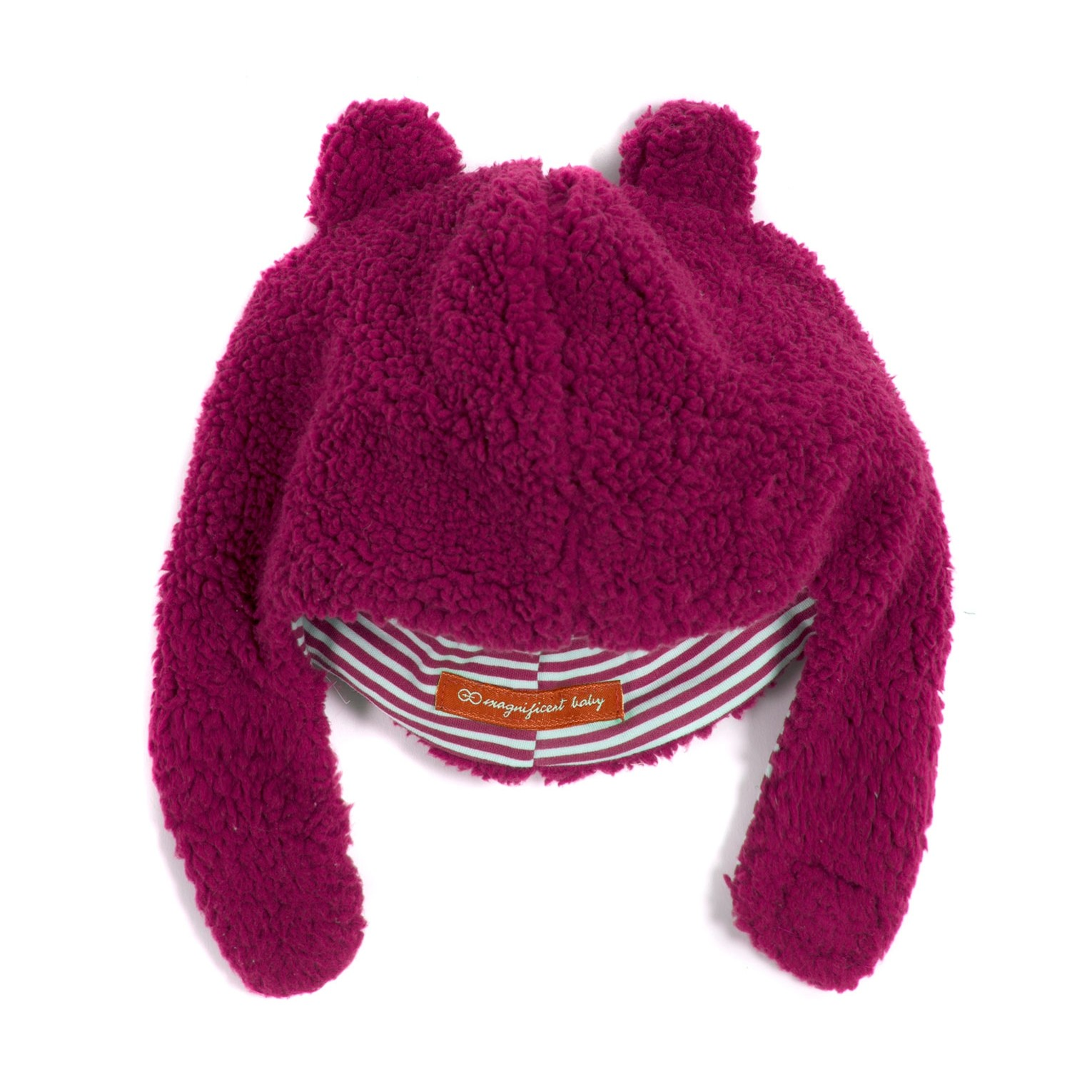 Magnetic Me Fleece Magnetic Hat (Raspberry)
