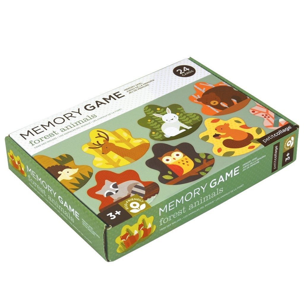 Memory Games (Forest Animals)