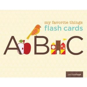 Chronicle My Favorite Things Flash Cards