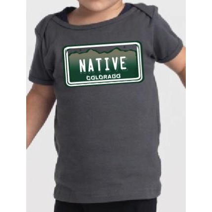 CO Native- License Plate Tee-Toddler