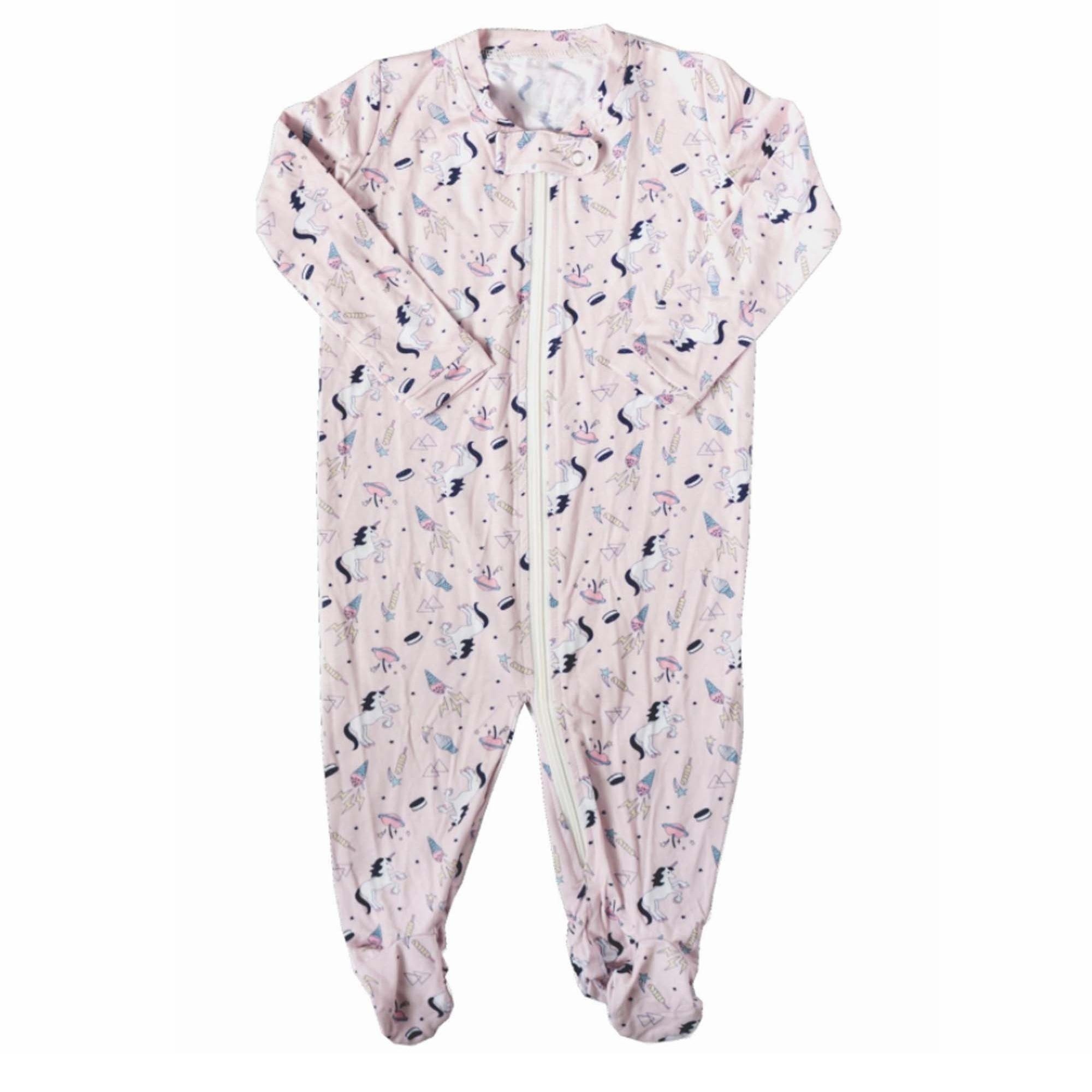 Zip Up Romper (Unicorn)