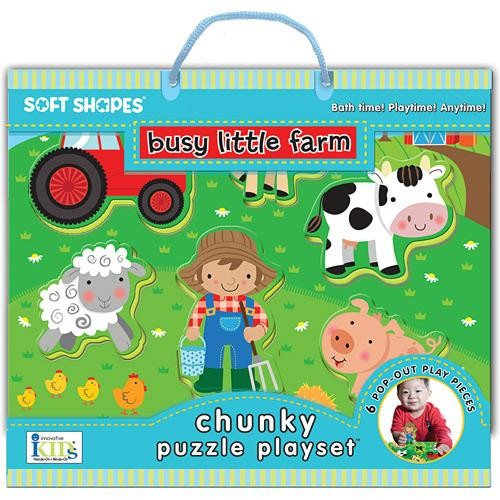 Innovative Kids Soft Shape Puzzle (Busy Little Farm)