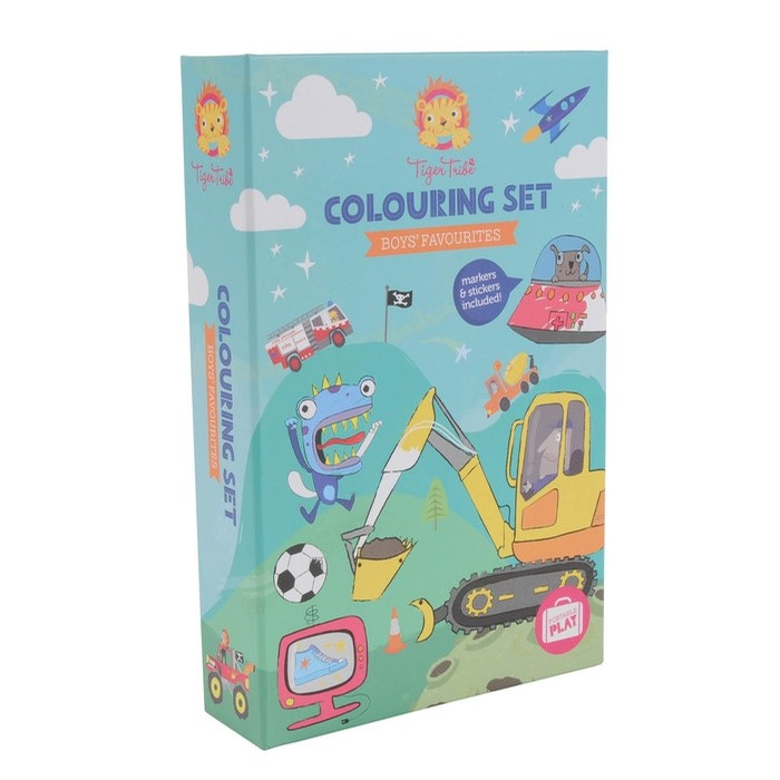 Coloring Set- Adventures