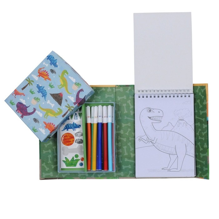 Coloring Set-Dinosaurs