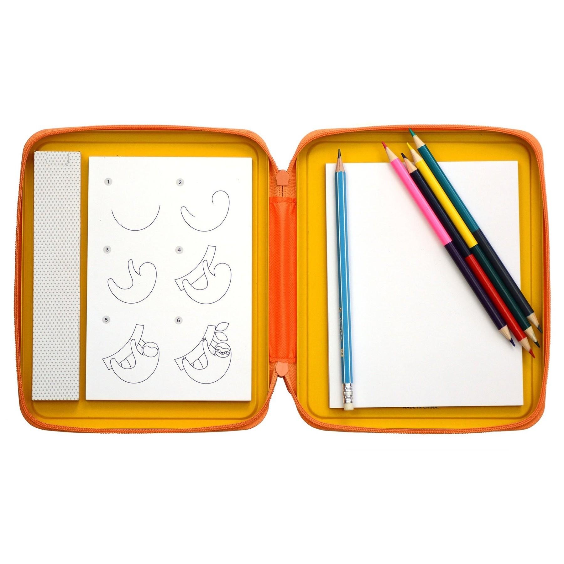 Tin Case Drawing Kits (Animals)
