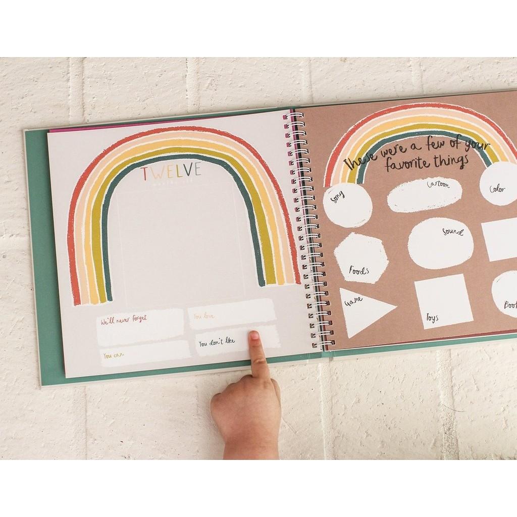 Memory Book-Little Rainbow