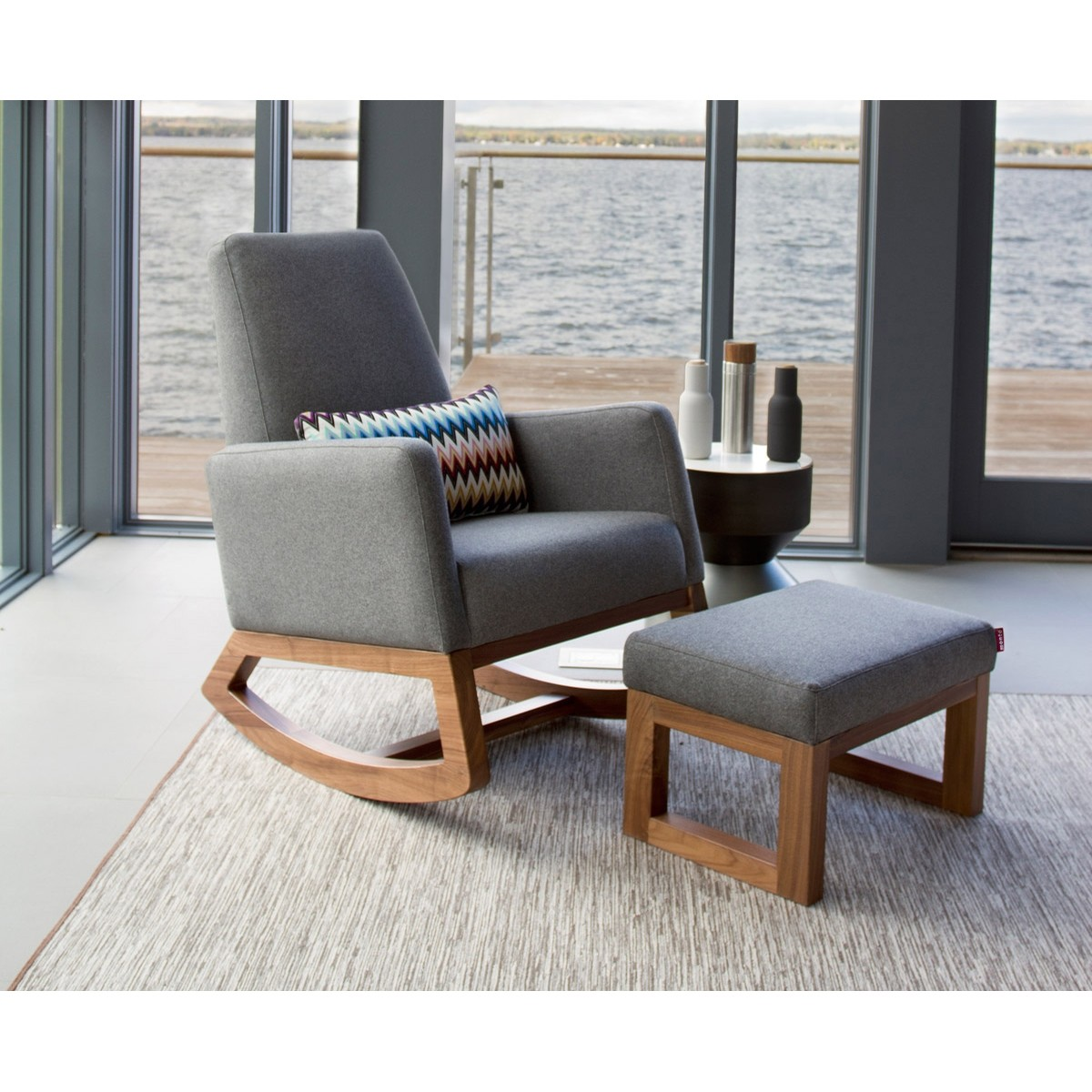 Monte Design Joya Rocker - Walnut Base