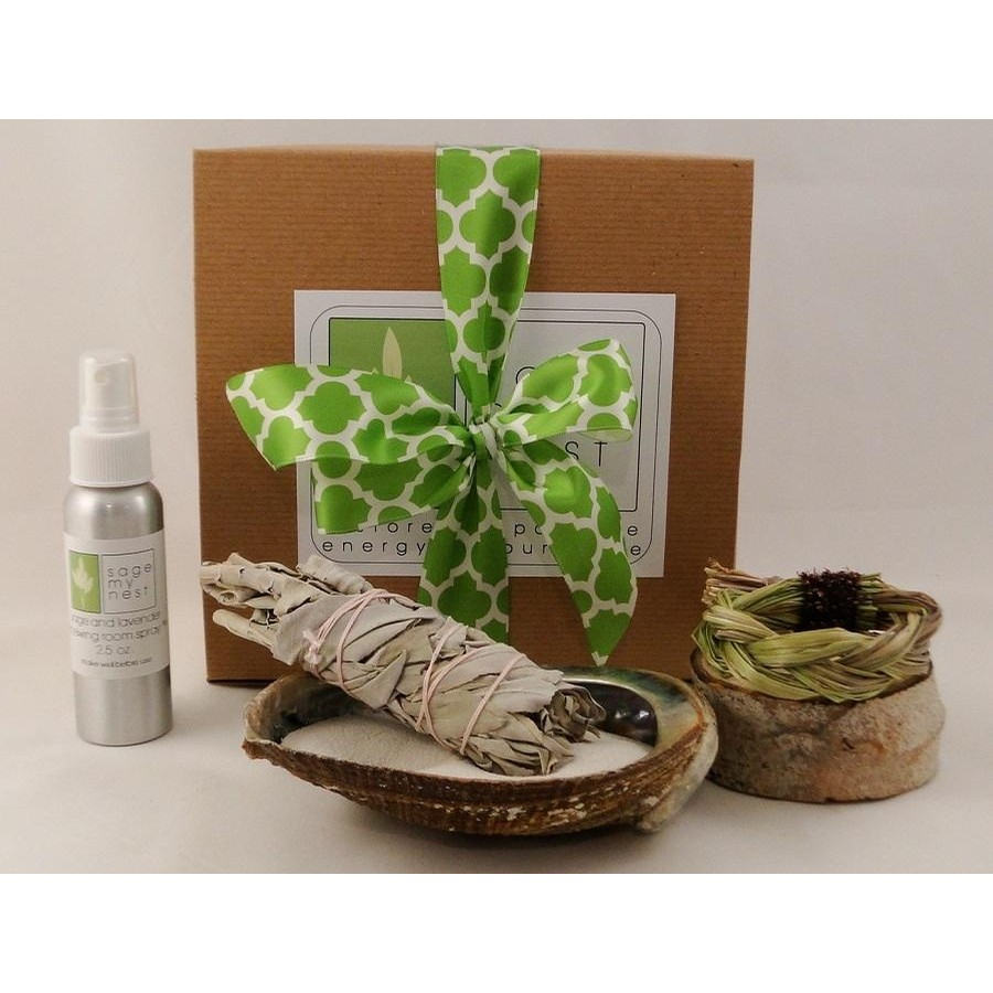 Ceremonial Sage Blessing Kit - Wedding and Vow Renewal Kit