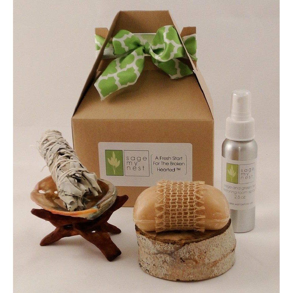 Fresh Start Sage Smudge Gift Kit