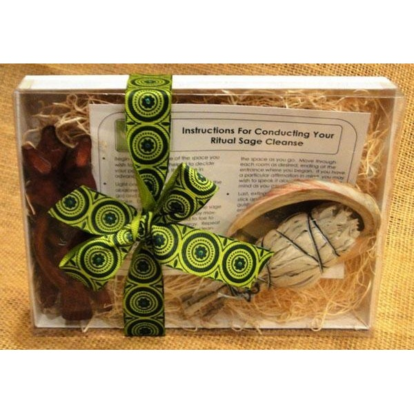 Sage My Nest Basic Sage Smudge Cleansing Kit