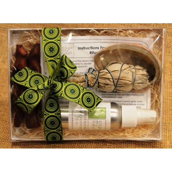 Sage My Nest Sage Cleansing Gift Kit - Sage Smudge Gift Kit